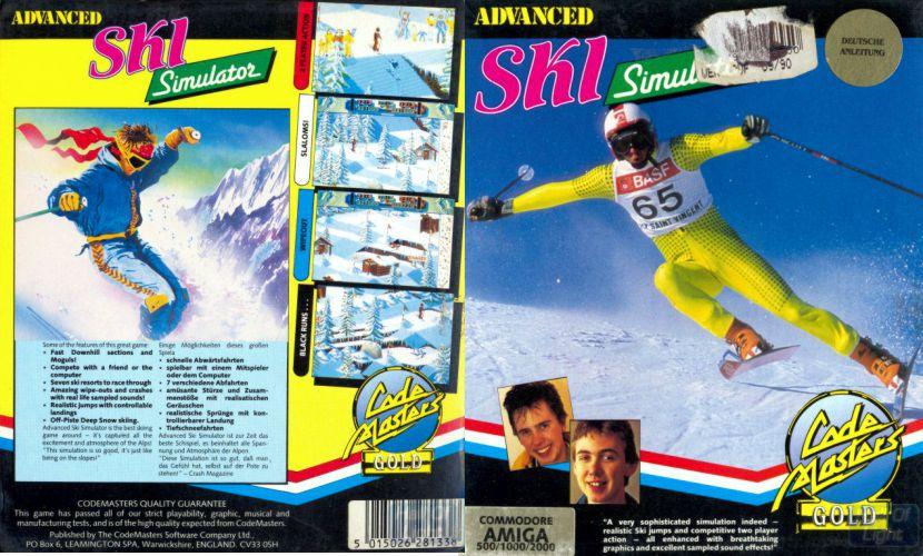 Advanced Ski Simulator | Top 80's Games