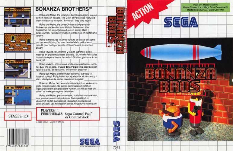 Bonanza Bros Top 80 S Games